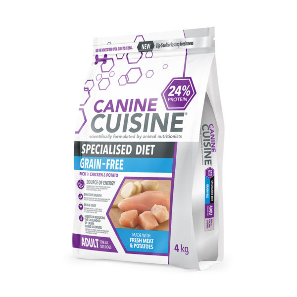Canine Cuisine Specialised Diet Grain Free